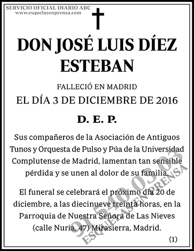 José Luis Díez Esteban